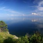 Вид на Байкал, Сибирь, Россия