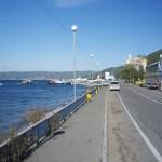 Трасса вдоль озера Байкал