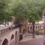Внутренняя сторона наружной стены, Лондонский Тауэр