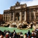 Знаменитый римский фонтан