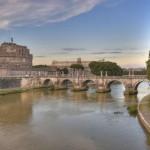 Замок Святого Ангела и Мост Элио