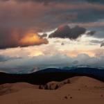 Вид на сибирскую пустыню