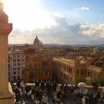 Вид с Испанской лестницы