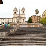 Знаменитая лестница в Риме