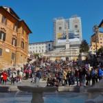 Испанская лестница, Рим