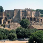 Вид на Термы Каракаллы в Риме