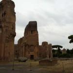 Термы Каракаллы в Риме, Италия