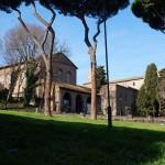 Вид на Термы Каракаллы в Риме, Италия
