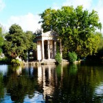 Озеро в парке Боргезе