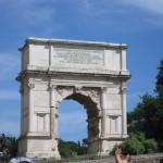 Триумфальная Арка Тита, Рим