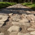 Каменная выкладка величайшей римской дороги