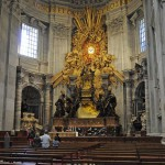 Внутри собора Петра, Ватикан