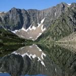 Горное озеро Баргузинского заповедника