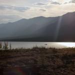 Закат на Байкале, Баргузинский заповедник