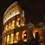 Колизей ночью, Рим
