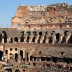 Внутри величественной древней арены