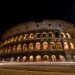 Ночной вид на Колизей