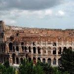 Вид на римский Колизей