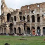 Вид на Колизей, Италия