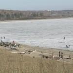 Водохранилище на Оби, южнее Новосибирска