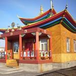 Маанин дуган (Храм Будды сострадания)в Иволгинском дацане