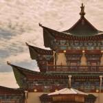 Храм Пандито Хамбо Ламы Даша-Доржо Итигэлова в Иволгинском дацане. Бурятия.