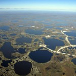 Васюганские болота вид с вертолета 4
