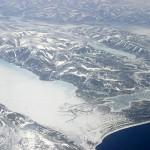 Вид с верху на горы Большого Арктического заповедника