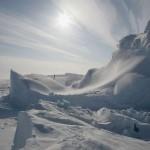 Зимний пейзаж Большого Арктического государственного заповедника