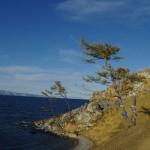 Западный берег озера Байкал