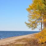 Осенний пейзаж, озеро Байкал