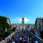 Капитолийская лестница, Рим