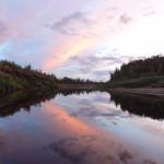 Закат над Чамбой