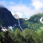 Кинзелюкский водопад, Красноярский край