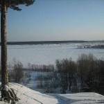 Река Бия ниже Бийска