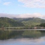 Мост на реке Бия в Алтае