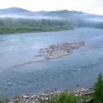 Река Бия в верховье