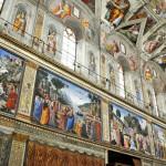 Роспись Сикстинской капеллы, Микеланджело