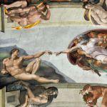 Знаменитая фреска Микеланджело «Страшный суд»
