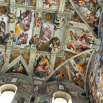 Роспись Сикстинской капеллы, Микеланджело, Ватикан, Рим