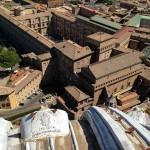 Сикстинская капелла с Купола Святого Петра, Ватикан