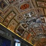Потолок Сикстинской капеллы в Ватикане