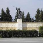 Памятник у Фермопильского ущелья