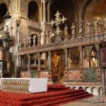 Внутри собора Сан Марко в Венеции