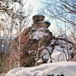 Гора Церковка зимой