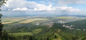 Белокуриха с горы Церковка