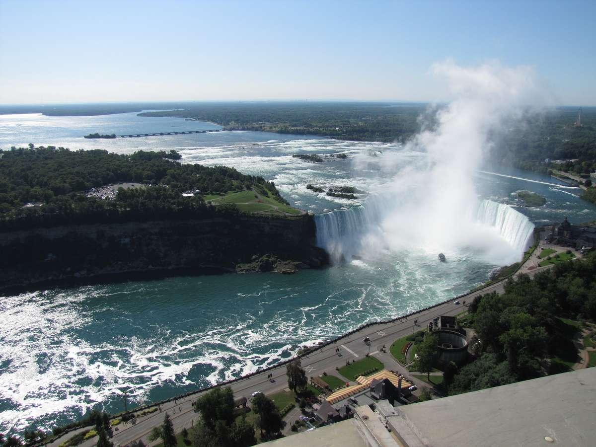 Водопад Подкова, Ниагарский водопад, Онтарио, Канада