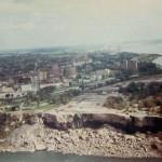 Осушенные американские водопады в 1969 году