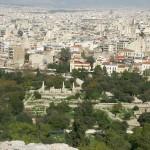 Вид на афинскую Агору