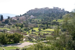 Афинская Агора и Акрополь